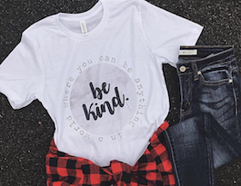 """Be Kind"" Graphic T-Shirt"