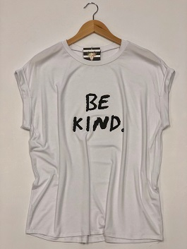 """Be Kind"" White T-Shirt"