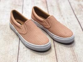 Blush Flat Sneaker