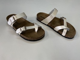 Pearl Strappy Buckle Sandal