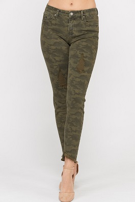 Camouflage Skinnies