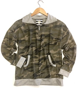 """""""In Hiding"""" Camouflage Pullover"""