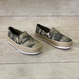 Camouflage Rope Edge Sneakers