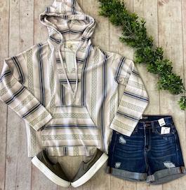 """Campfire Cutie"" Tribal Print Pullover"