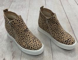 Cheetah Wedge Sneaker