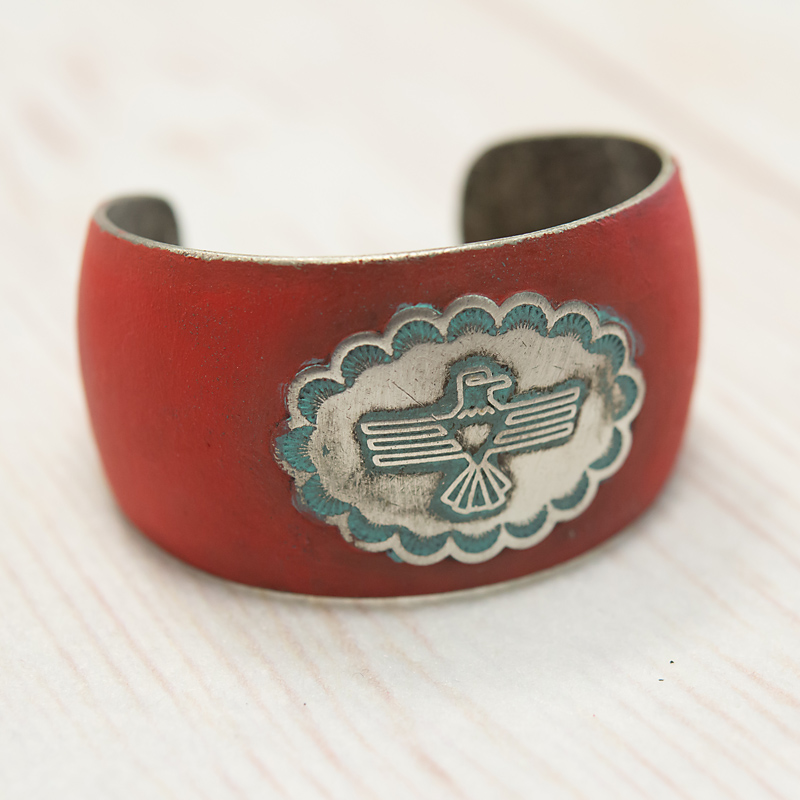 Red Thunderbird Cuff