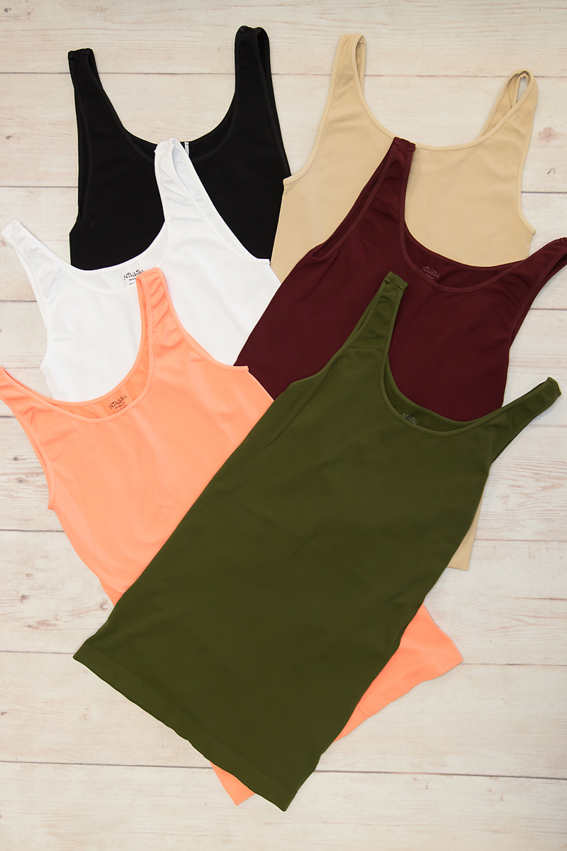 Thick Strap Tank(NS5178)