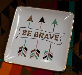 Be Brave Trinket Box(F155589)