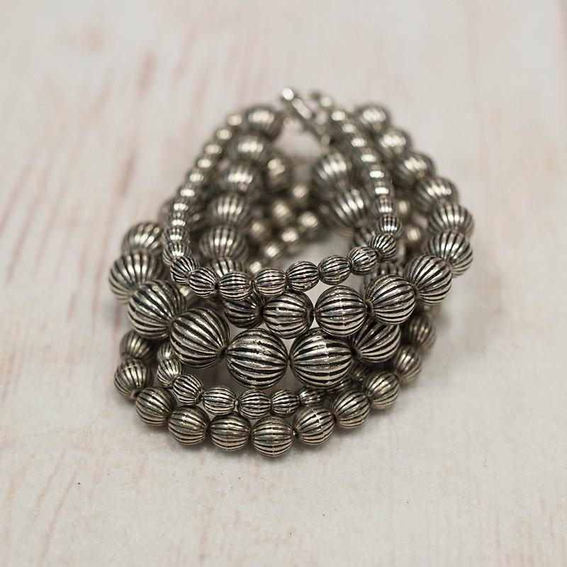 5 Strand Navajo Pearl Bracelet