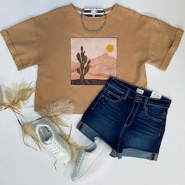 Desert Oversized T-Shirt