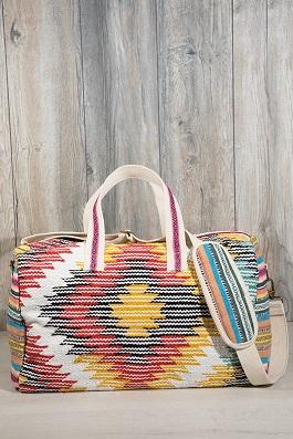 Boho Chic Carpet Duffel Bag