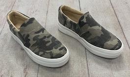 Camo Flat Sneaker