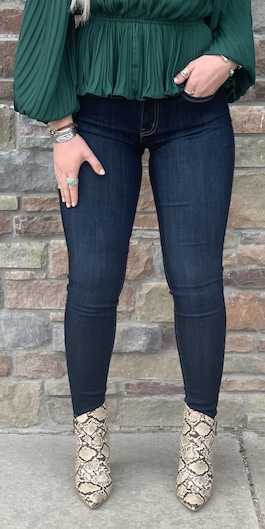Dark Wash Basic Skinnies