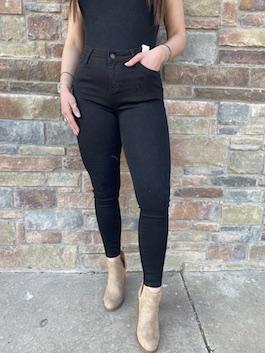 Judy Blue Black Mid Rise Jeans