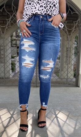 Judy Blue Medium Wash High Waisted Jeans