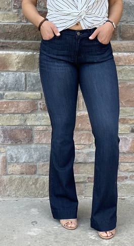 Dark Denim Trouser Jeans