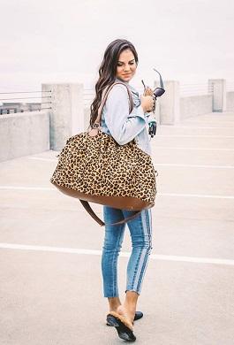 Leopard Overnight Bag