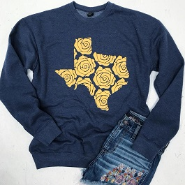 Yellow Rose Of Texas Pullover
