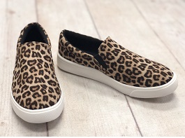 Cheetah Smooth Flat Sneaker