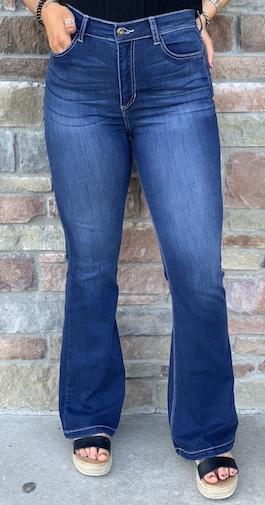 Medium Wash Boot Cut Jeans