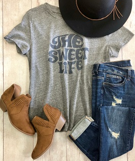 The Sweet Life Graphic Tee