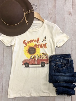 """Sweet Ride"" SS Vintage Graphic T-Shirt"