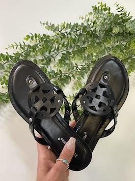 Black Fashion Sandal