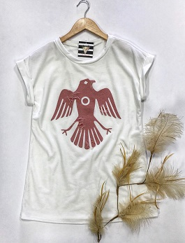 White Thunderbird T-Shirt
