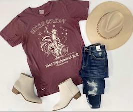 """Urban Cowboy"" Graphic T-Shirt"