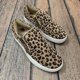 Cheetah Hair On Sneaker