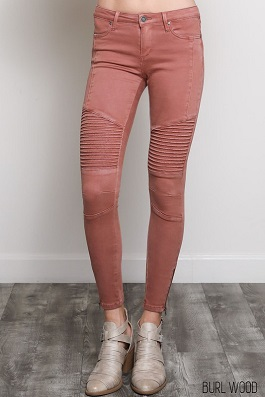 Burlwood Motto Skinny Jeans