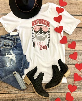 """""""Willie Love You"""" Graphic T-Shirt"""