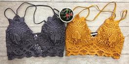 Doily Crochet Lace Bralette