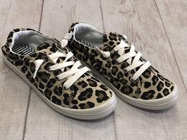 Leopard Lace Up Sneaker