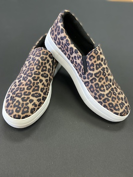 Leopard Oatmeal Sneaker