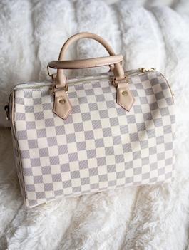 Zoey Checkered Tote Bag